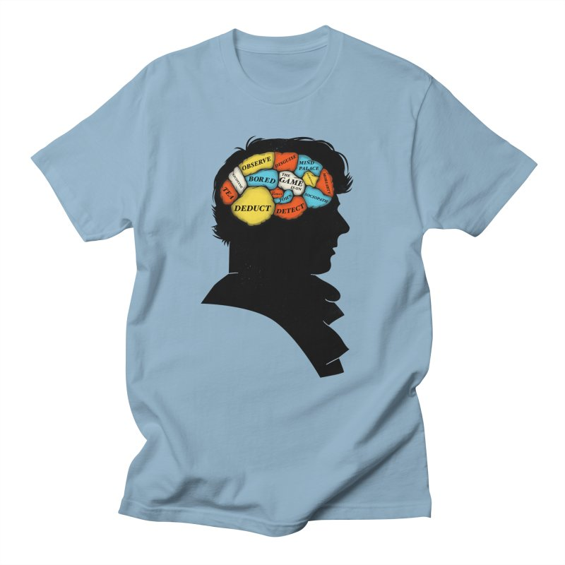 Sherlock Phrenology Men's T-shirt by wharton's Artist Shop