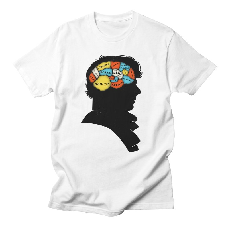 Sherlock Phrenology Men's T-shirt by wharton's Artist Shop