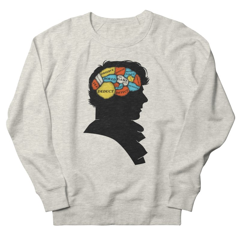 Sherlock Phrenology Men's Sweatshirt by wharton's Artist Shop