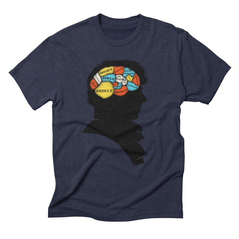 Sherlock Phrenology Men's Triblend T-Shirt by wharton's Artist Shop