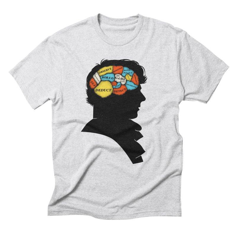 Sherlock Phrenology Men's Triblend T-Shirt by wharton's Artist Shop