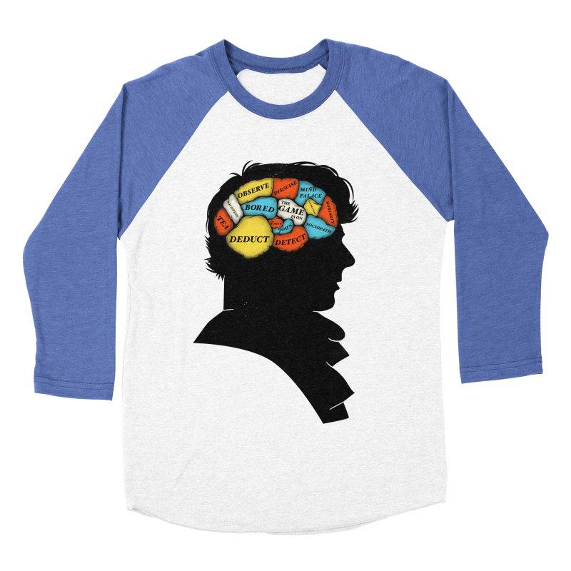 Sherlock Phrenology Women's Baseball Triblend T-Shirt by wharton's Artist Shop