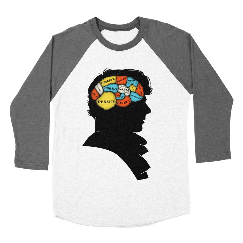 Sherlock Phrenology Men's Baseball Triblend T-Shirt by wharton's Artist Shop