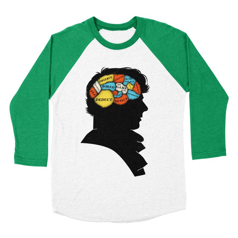 Sherlock Phrenology Men's Baseball Triblend T-Shirt by wharton's Artist Shop
