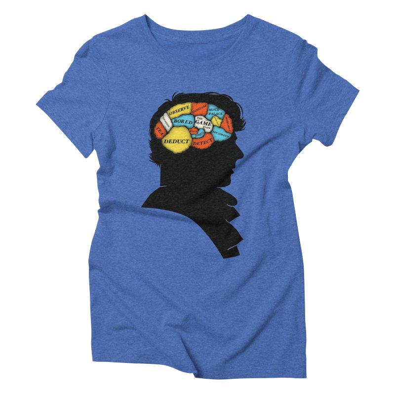 Sherlock Phrenology Women's Triblend T-Shirt by wharton's Artist Shop