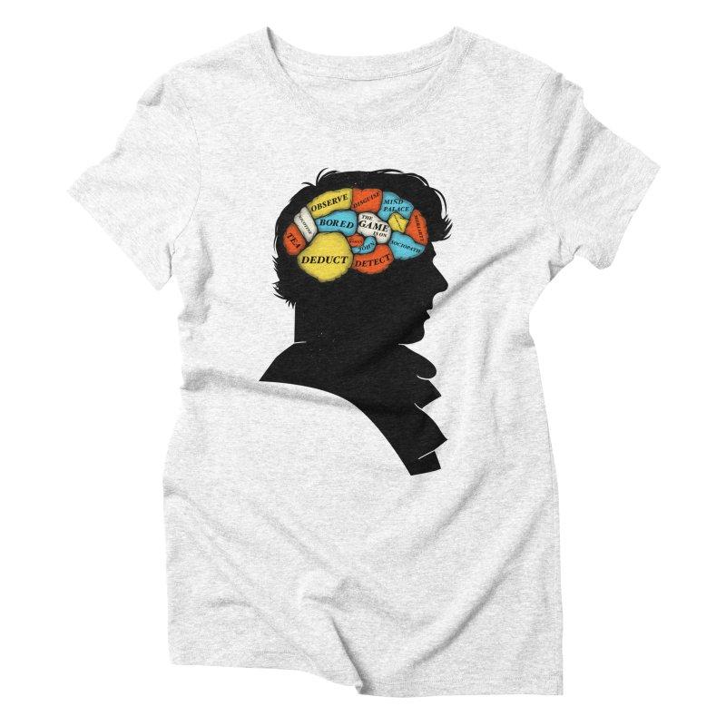 Sherlock Phrenology Women's Triblend T-shirt by wharton's Artist Shop