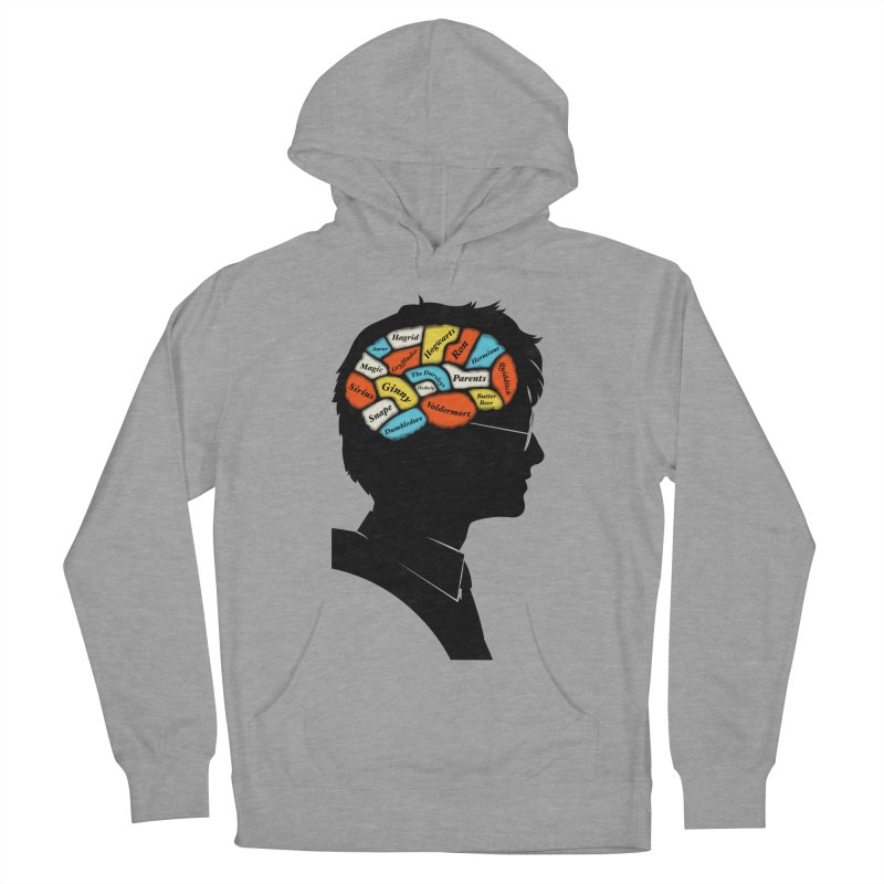 Harry Phrenology Women's French Terry Pullover Hoody by wharton's Artist Shop