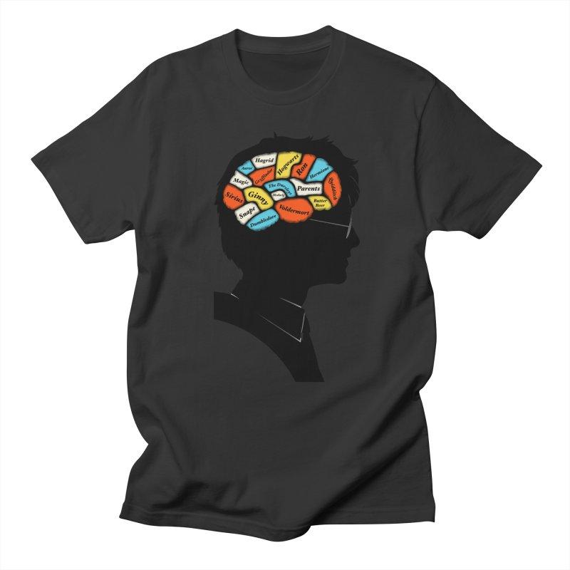 Harry Phrenology Men's T-shirt by wharton's Artist Shop