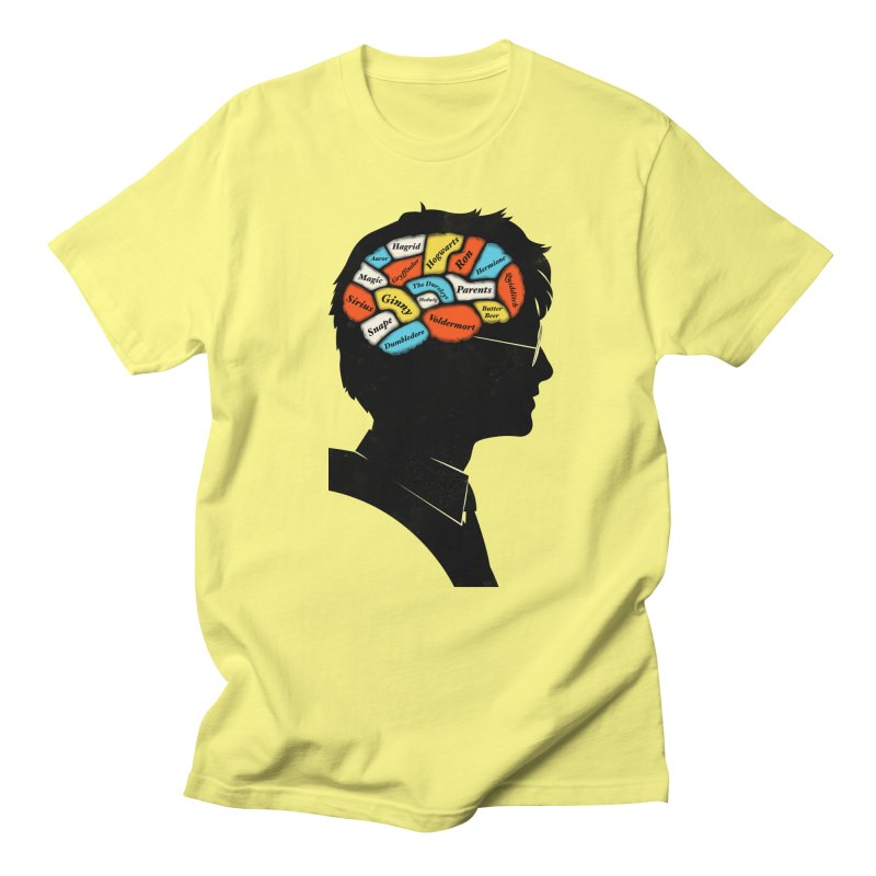 Harry Phrenology Men's T-Shirt by wharton's Artist Shop