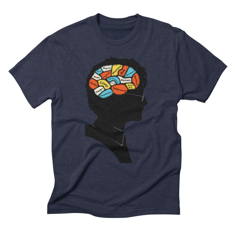 Harry Phrenology Men's Triblend T-Shirt by wharton's Artist Shop