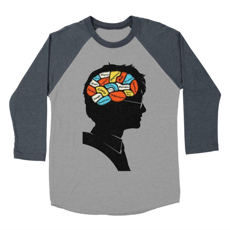 Harry Phrenology Women's Baseball Triblend T-Shirt by wharton's Artist Shop
