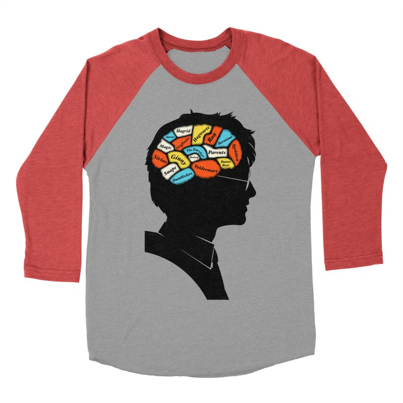 Harry Phrenology Men's Baseball Triblend T-Shirt by wharton's Artist Shop