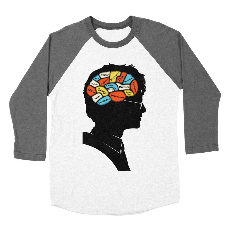 Harry Phrenology Men's Baseball Triblend T-Shirt by wharton's Artist Shop