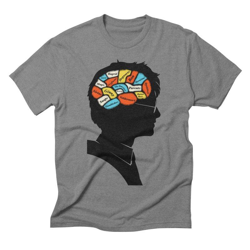 Harry Phrenology Men's Triblend T-shirt by wharton's Artist Shop