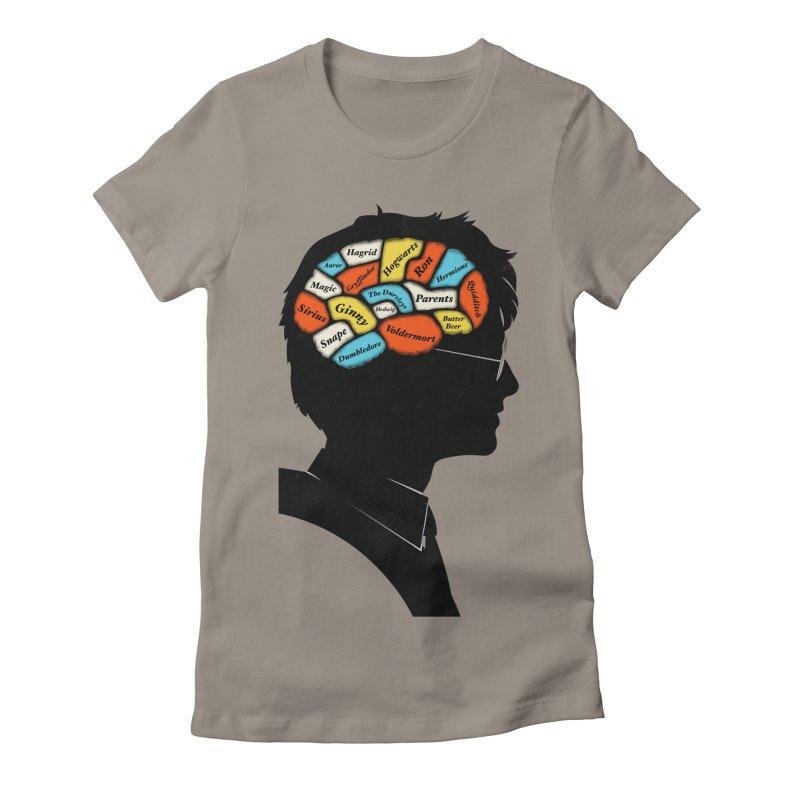 Harry Phrenology Women's Fitted T-Shirt by wharton's Artist Shop