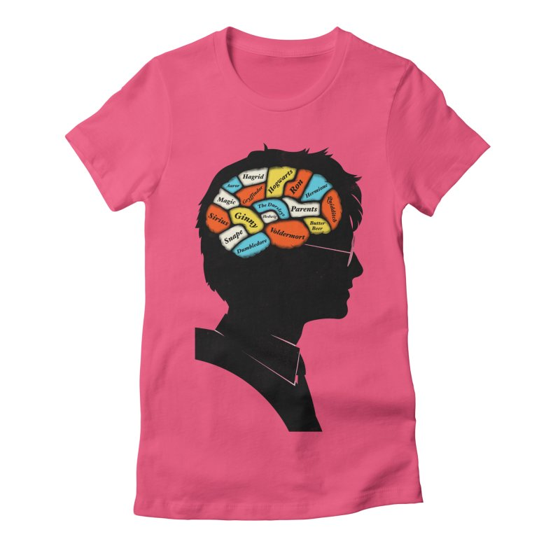 Harry Phrenology Women's Fitted T-Shirt by wharton's Artist Shop