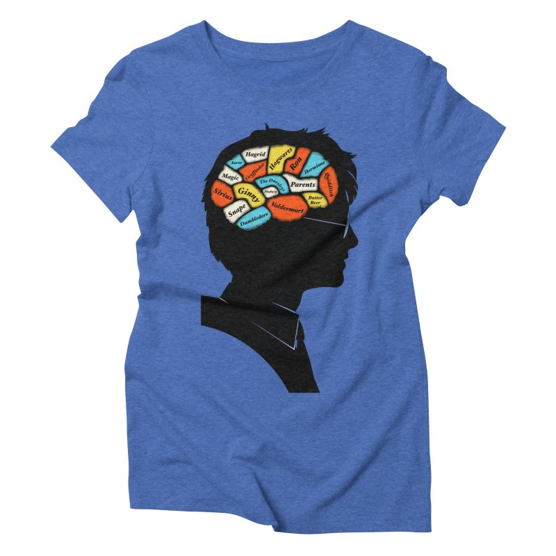 Harry Phrenology Women's Triblend T-shirt by wharton's Artist Shop