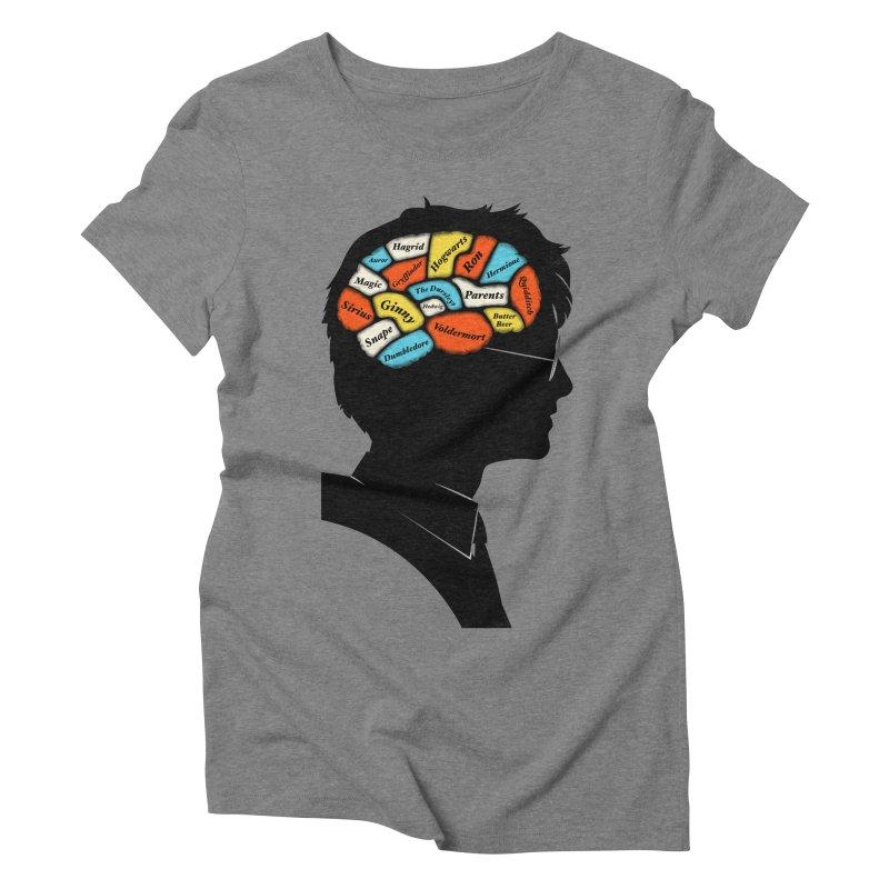 Harry Phrenology Women's Triblend T-shirt by wharton's Artist Shop