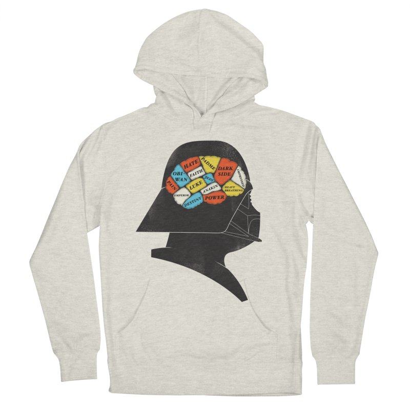 Darth Phrenology Women's French Terry Pullover Hoody by wharton's Artist Shop