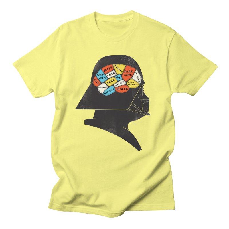 Darth Phrenology Men's T-shirt by wharton's Artist Shop