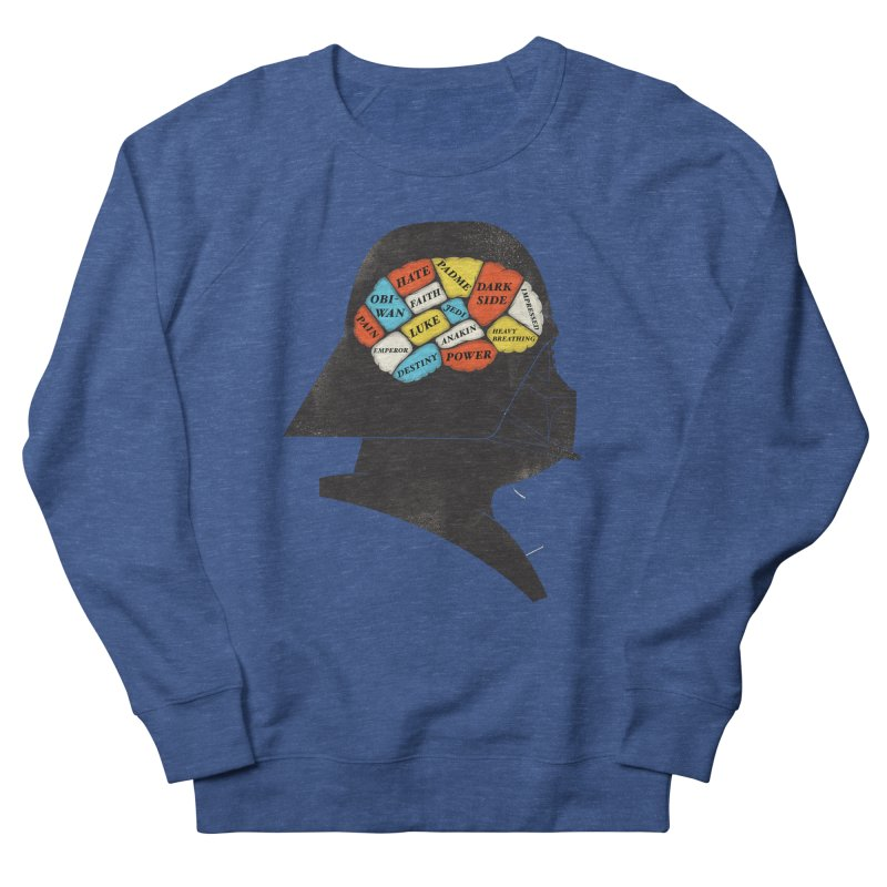 Darth Phrenology Men's Sweatshirt by wharton's Artist Shop