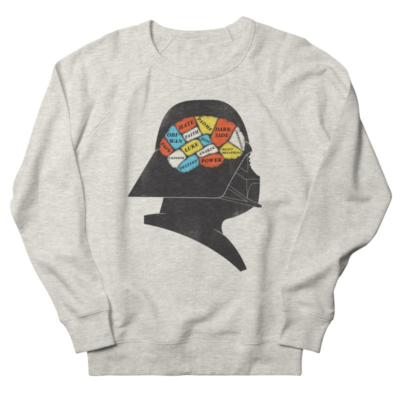 Darth Phrenology Men's Sweatshirt by wharton's Artist Shop