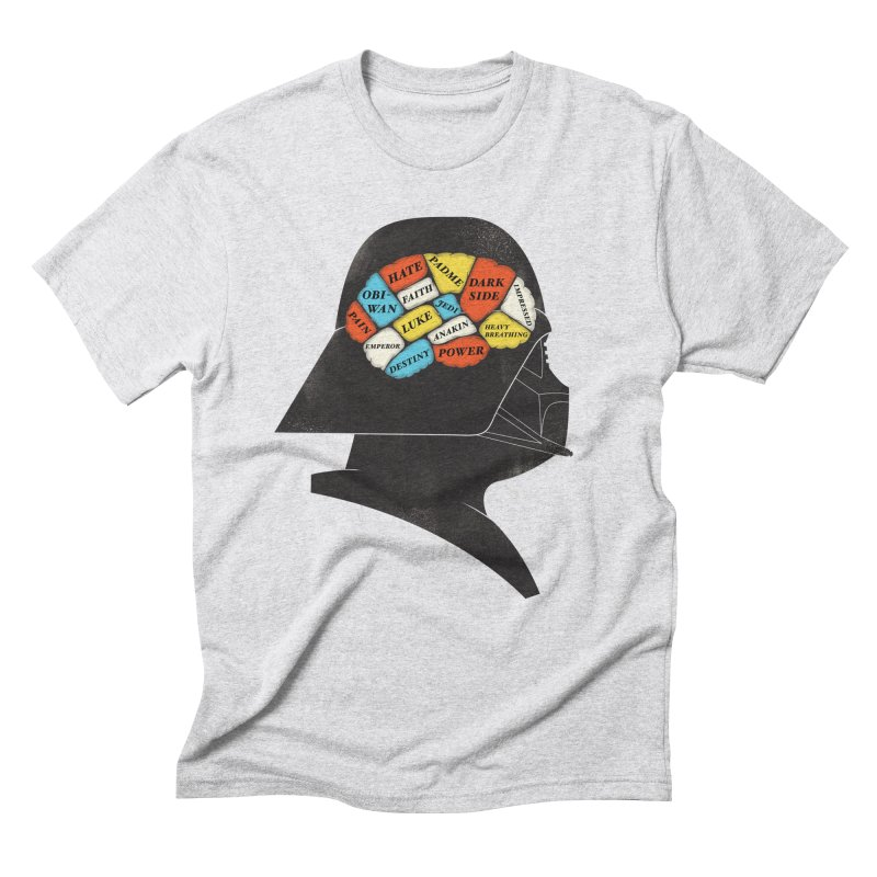 Darth Phrenology Men's Triblend T-Shirt by wharton's Artist Shop