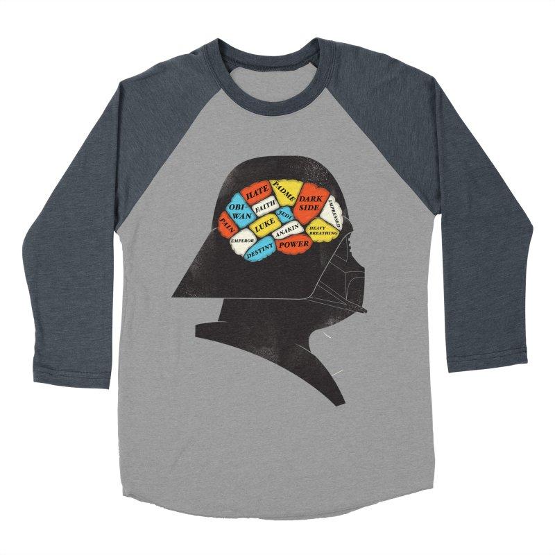 Darth Phrenology Women's Baseball Triblend T-Shirt by wharton's Artist Shop