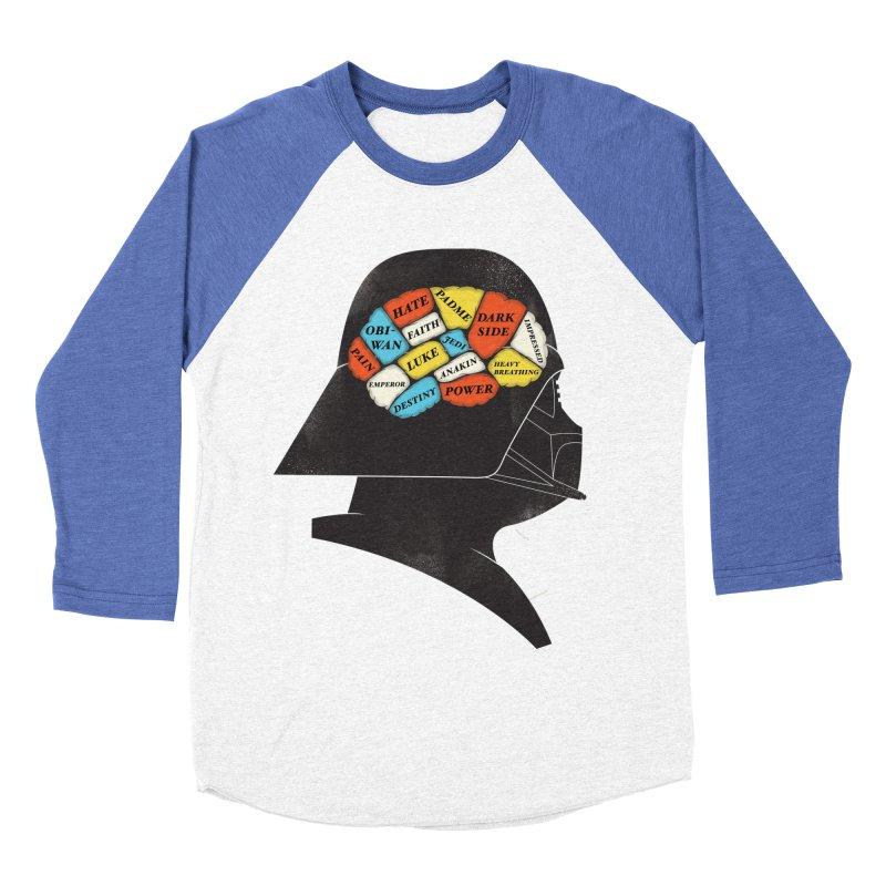 Darth Phrenology Men's Baseball Triblend T-Shirt by wharton's Artist Shop