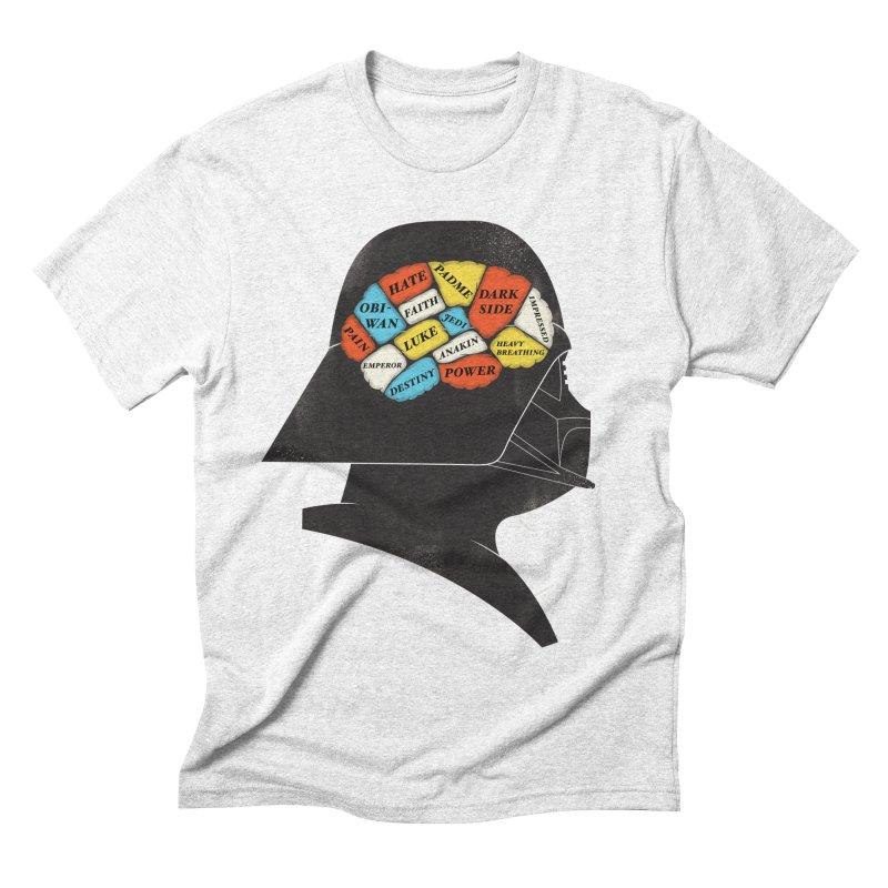 Darth Phrenology Men's Triblend T-shirt by wharton's Artist Shop