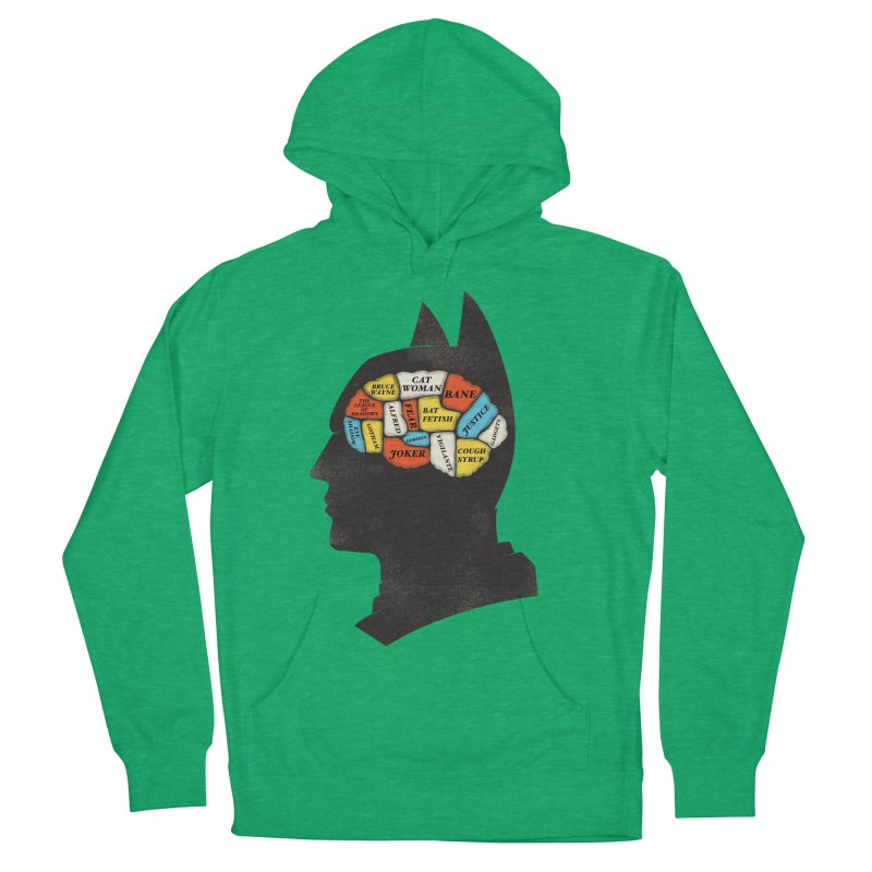 Batman Phrenology Women's Pullover Hoody by wharton's Artist Shop