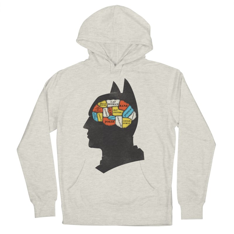 Batman Phrenology Women's Pullover Hoody by wharton's Artist Shop