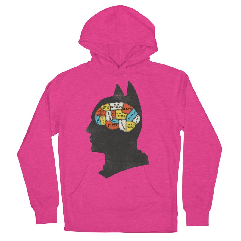 Batman Phrenology Men's Pullover Hoody by wharton's Artist Shop