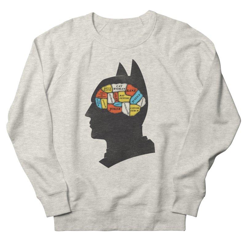 Batman Phrenology Men's Sweatshirt by wharton's Artist Shop