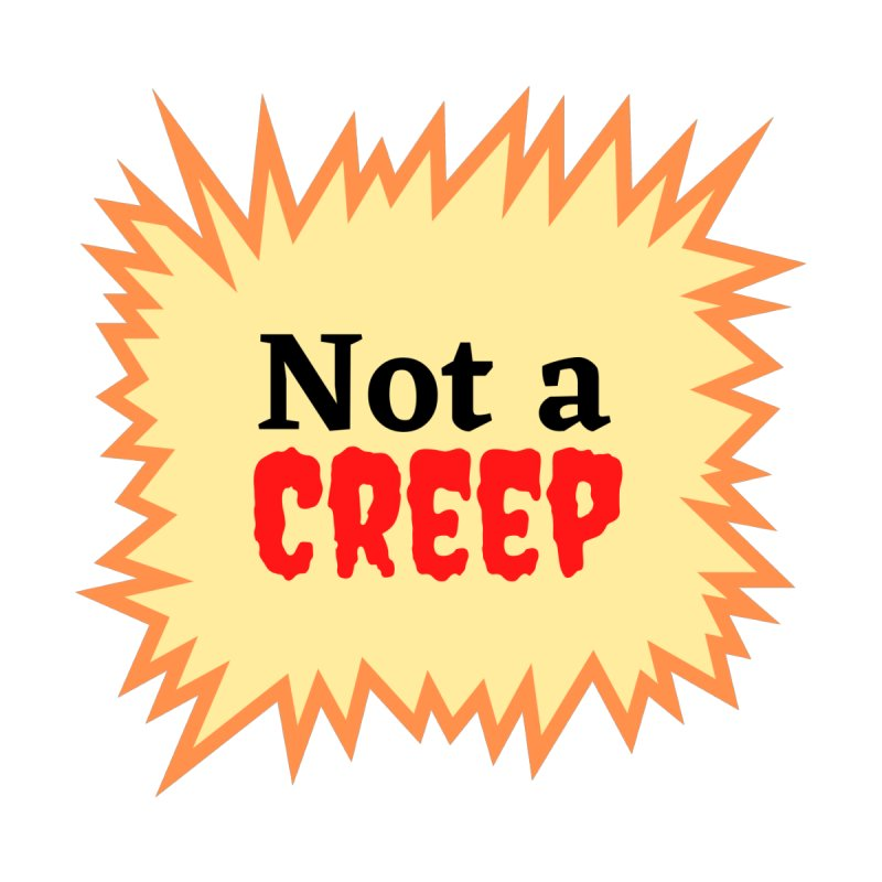 Not a creep Home Blanket by What a Creep Podcast Swag Shop