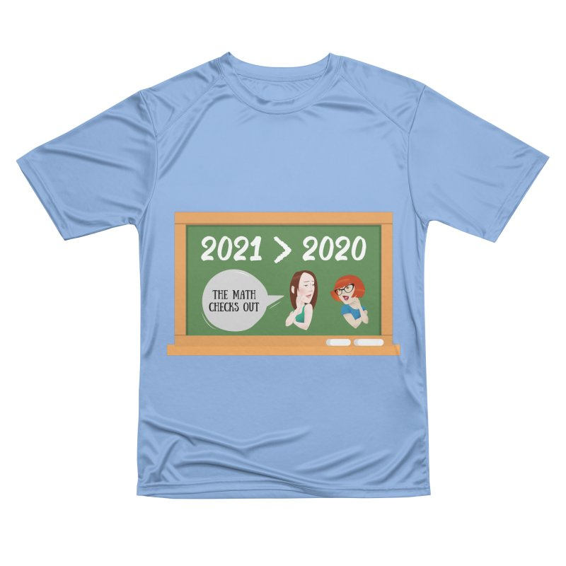 The math checks out Men's T-Shirt by What a Creep Podcast Swag Shop