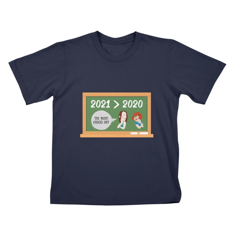 The math checks out Kids T-Shirt by What a Creep Podcast Swag Shop