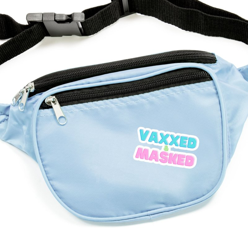 Vaxxed & Masked (Colors) Accessories Sticker by What a Creep Podcast Swag Shop