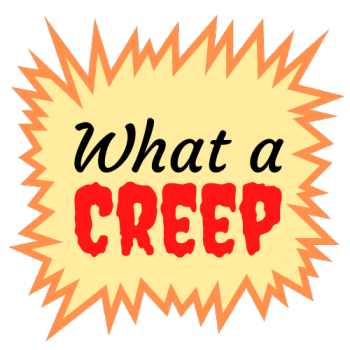 What a Creep Podcast Swag Shop Logo
