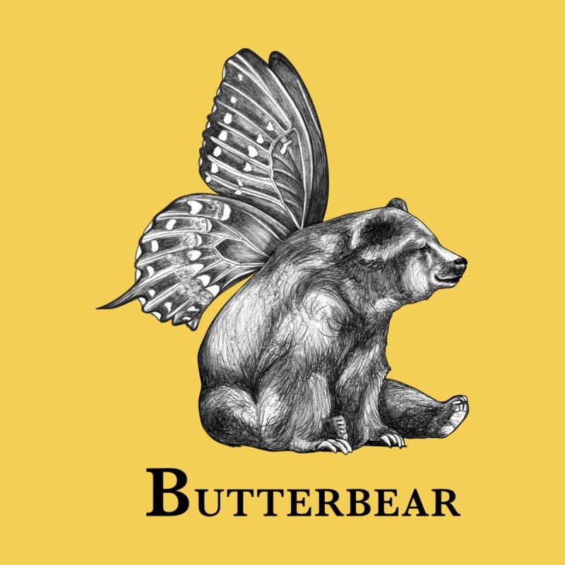 Butterbear | Butterfly + Bear Hybrid Animal Women's T-Shirt by Whatif Creations | Shop Hybrid Animals!