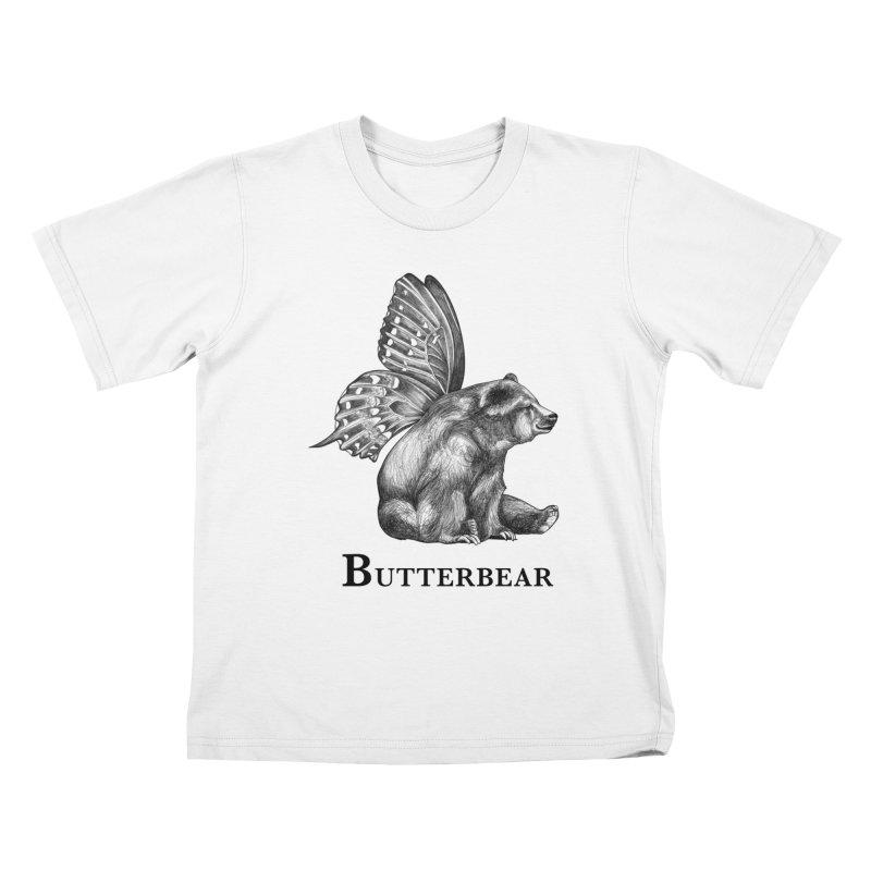 Butterbear   Butterfly + Bear Hybrid Animal Kids T-Shirt by Whatif Creations   Shop Hybrid Animals!