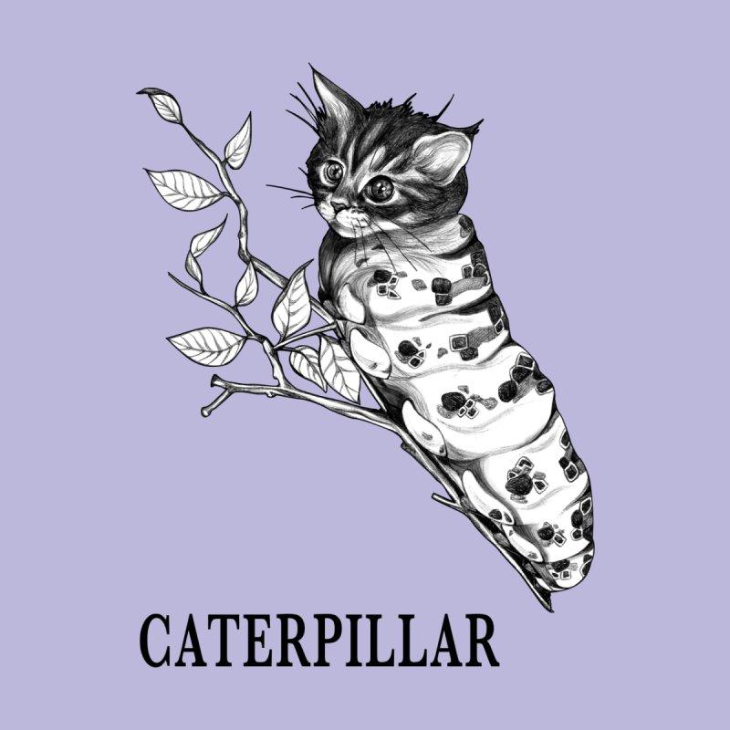 Caterpillar | Cat + Caterpillar Hybrid Animal Women's T-Shirt by Whatif Creations | Shop Hybrid Animals!