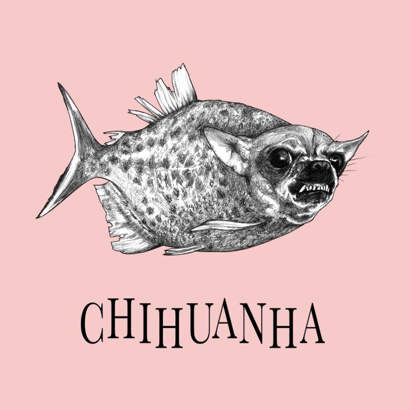 Chihuanha | Chihuahua + Piranha Hybrid Animal Women's T-Shirt by Whatif Creations | Shop Hybrid Animals!