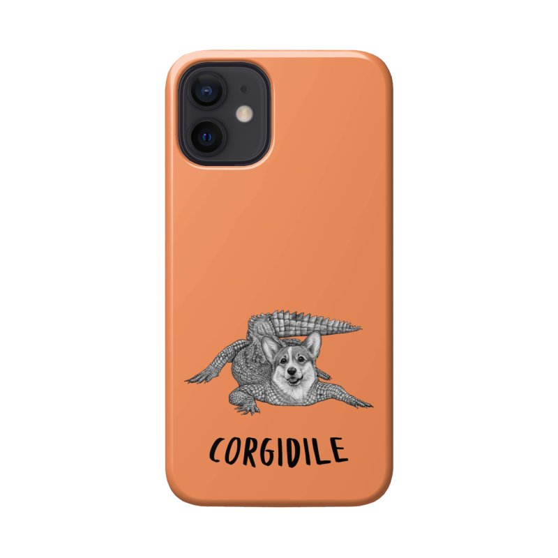 Corgidile | Corgi + Crocodile Hybrid Animal Accessories Phone Case by Whatif Creations | Shop Hybrid Animals!