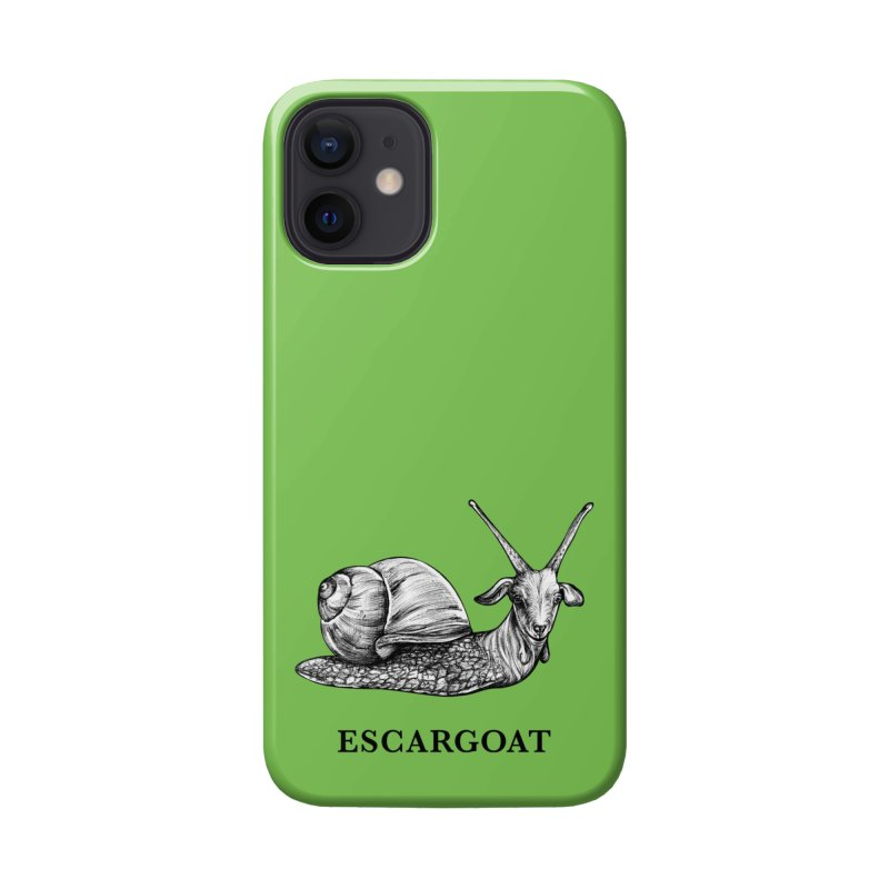 Escargoat | Snail + Goat Hybrid Animal Accessories Phone Case by Whatif Creations | Shop Hybrid Animals!