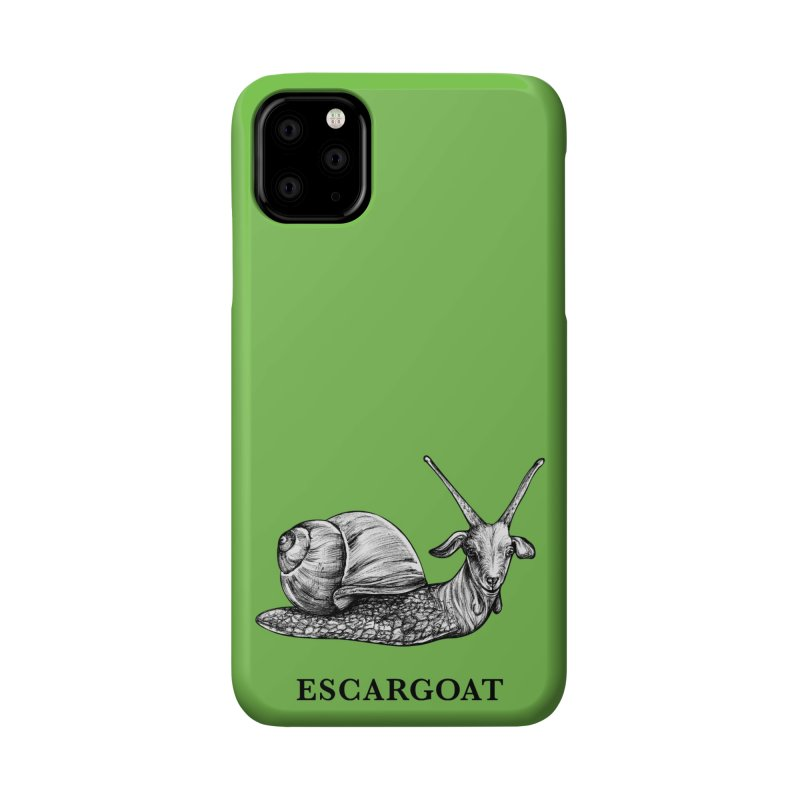 Escargoat   Snail + Goat Hybrid Animal Accessories Phone Case by Whatif Creations   Shop Hybrid Animals!
