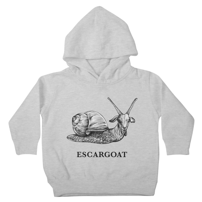 Escargoat | Snail + Goat Hybrid Animal Kids Toddler Pullover Hoody by Whatif Creations | Shop Hybrid Animals!