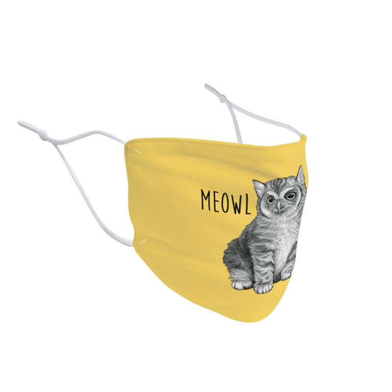 Meowl | Cat + Owl Hybrid Animal Accessories Face Mask by Whatif Creations | Shop Hybrid Animals!