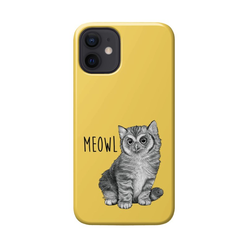Meowl | Cat + Owl Hybrid Animal Accessories Phone Case by Whatif Creations | Shop Hybrid Animals!