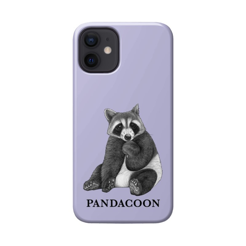 Pandacoon | Panda + Raccoon Hybrid Animal Accessories Phone Case by Whatif Creations | Shop Hybrid Animals!